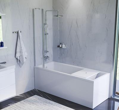 Ванная в европейском стиле: простор и функциональность